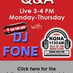 KQNA Radio Interview Q & A with DJ FONE - Darren Vilardo