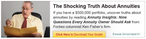 Why Ken Fisher Hates Annuities